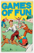 Platinum Age (1897-1937):Miscellaneous, Games of Fun #nn (K. K. Publications, 1934) Condition: VF....