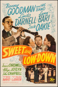 """Movie Posters:Musical, Sweet and Low-Down (20th Century Fox, 1944). One Sheet (27"""" X 41""""). Musical.. ..."""