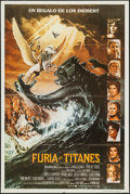 "Movie Posters:Fantasy, Clash of the Titans (CIC, 1981). Argentinean Poster (29"" X 43.25"").Fantasy.. ..."