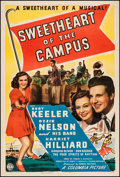 """Sweetheart of the Campus (Columbia, 1941). One Sheet (27"""" X 41""""). Musical"""