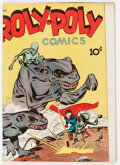 Golden Age (1938-1955):Superhero, Roly Poly Comic Book #10 (Green Publishing Co., 1946) Condition: VF....