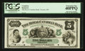 Canadian Currency: , Toronto, ON- The Royal Canadian Bank $5 July 26, 1865 Ch. #635-12-02-04P Face Proof. ...