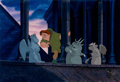 Animation Art:Limited Edition Cel, Hunchback of Notre Dame Quasimodo, Victor, Hugo, and LaverneEmployee-Only Limited Edition Cel #113/216 (Walt Disney, ...