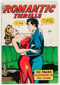 Golden Age (1938-1955):Romance, Fox Giants Romantic Thrills (Fox Features Syndicate, 1950) Condition: FN....