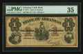 Obsoletes By State:Arkansas, Little Rock, AR- State of Arkansas $1 Dec. 23, 1872 Cr. 63. ...