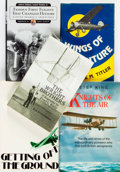 Books:Non-fiction, [Aviation]. Group of Five Books. Various publishers and dates.... (Total: 5 Items)