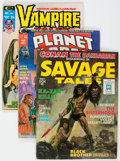 Magazines:Miscellaneous, Marvel Magazines Group of 20 (Marvel, 1970s) Condition: AverageFN/VF.... (Total: 20 Comic Books)