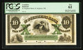 Canadian Currency: , St. Stephen, NB- St. Stephens Bank $10 July 1, 1860 PCGS New 61 Ch.# 675-18-10P Proof. ...