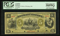 Canadian Currency: , Ottawa, ON- The Bank of Ottawa $5 Nov. 2, 1880 Ch. # 565-12-02aSSpecimen. ...