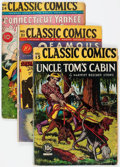 Golden Age (1938-1955):Classics Illustrated, Classic Comics #15, 21, and 24 First Editions Group(Gilberton/Island, 1943-45) Condition: Average GD.... (Total: 3Comic Books)