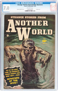 Golden Age (1938-1955):Horror, Strange Stories from Another World #4 (Fawcett Publications, 1952)CGC FN/VF 7.0 Off-white pages....