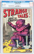 Silver Age (1956-1969):Horror, Strange Tales #72 (Marvel, 1959) CGC FN 6.0 Cream to off-whitepages....