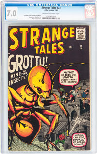 Strange Tales #73 (Marvel, 1960) CGC FN/VF 7.0 Off-white to white pages