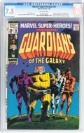 Silver Age (1956-1969):Superhero, Marvel Super-Heroes #18 Guardians of the Galaxy (Marvel, 1969) CGC VF- 7.5 Off-white pages....