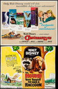 "Movie Posters:Adventure, In Search of the Castaways & Others Lot (Buena Vista, 1962).Half Sheets (3) (22"" X 28"") and Trimmed Half Sheet (20.5"" X 26....(Total: 4 Items)"