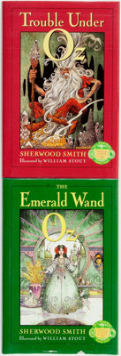 Sherwood Smith. Pair of Oz Sequels, One of Which is SIGNED/LIMITED. Includes: