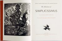 Fritz Eichenberg, illustrator. SIGNED/LIMITED. Johann Jakob Christoffel von Grimmelshausen. The Adventures of S