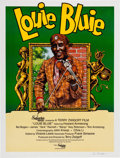 Memorabilia:Poster, Robert Crumb Louie Bluie Signed Movie Poster (Superior,1985)....