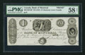 Canadian Currency: , Montreal, LC- Bank of Montreal $1 ND (1831) Ch. # 505-12-02-10PProof. ...