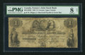 Canadian Currency: , Toronto, UC- Farmer's Joint Stock Bank $1 Feb. 1, 1849 Ch. # 280-14-02-02 . ...