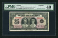 Canadian Currency: , Serial Number 9 BC-11 $25 1935 . ...