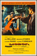 "Movie Posters:Adventure, Lisbon & Other Lot (Republic, 1956). One Sheets (2) (27"" X41""). Adventure.. ... (Total: 2 Items)"
