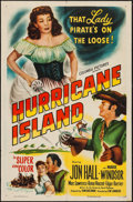 "Movie Posters:Adventure, Hurricane Island (Columbia, 1951). One Sheet (27"" X 41"").Adventure.. ..."