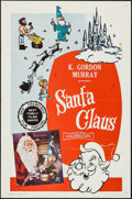 """Movie Posters:Fantasy, Santa Claus & Other Lot (K. Gordon Murray, 1960). One Sheets(2) (27"""" X 41""""). Fantasy.. ... (Total: 2 Items)"""