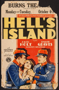 "Hell's Island (Columbia, 1930). Window Card (13.5"" X 21.25""). Drama"