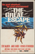 "Movie Posters:War, The Great Escape (United Artists, 1963). One Sheet (27"" X 41"").War.. ..."
