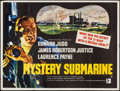 "Movie Posters:Adventure, Mystery Submarine (British Lion, 1963). British Quad (30"" X 40"").Adventure.. ..."
