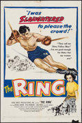 """Movie Posters:Sports, The Ring (United Artists, 1952). One Sheet (27"""" X 41""""). Sports.. ..."""