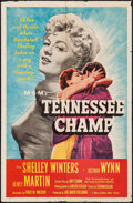 """Movie Posters:Drama, Tennessee Champ (MGM, 1954). One Sheet (27"""" X 41"""") & Lobby Card Set of 8 (11"""" X 14""""). Drama.. ... (Total: 9 Items)"""