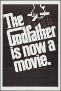 """Movie Posters:Crime, The Godfather (Paramount, 1972). One Sheet (27"""" X 41"""") TeaserStyle. Crime.. ..."""