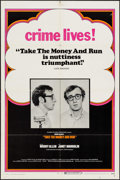 "Movie Posters:Comedy, Take the Money and Run (Cinerama Releasing, 1969). One Sheet (27"" X 41""). Comedy.. ..."