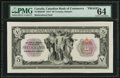 Canadian Currency, Toronto, ON- The Canadian Bank of Commerce $5 Jan. 2, 1917 Ch. #75-16-02-04P Proof. ...