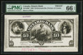 Canadian Currency: , Toronto, ON- Ontario Bank $10 June 1, 1888 CH. # 555-18-06P FaceProof . ...