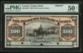 Canadian Currency: , Toronto, ON- The Traders Bank $100 January 2, 1909 Ch. # 720-16-10P. ...