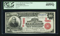 National Bank Notes:Pennsylvania, Frackville, PA - $10 1902 Red Seal Fr. 613 The First NB Ch. #(E)7860. ...
