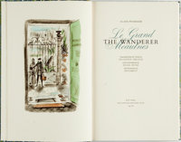 Dignimont, illustrator. SIGNED/LIMITED. Alain-Fournier. The Wanderer. New York: The Limited Edi