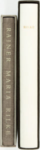 Books:Fine Press & Book Arts, Rainer Maria Rilke. Two Limited Editions Club Books. Including:[C.F. MacIntyre, translator]. Selected Poems of Rain... (Total:2 Items)