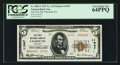 National Bank Notes:Kentucky, Falmouth, KY - $5 1929 Ty. 2 The First NB Ch. # 11947. ...