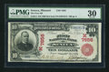 National Bank Notes:Missouri, Seneca, MO - $10 1902 Red Seal Fr. 613 The First NB Ch. # (M)7656....