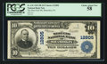 National Bank Notes:Pennsylvania, Shamokin, PA - $10 1902 Plain Back Fr. 635 The West End NB Ch. #12805. ...