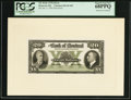 Canadian Currency: , Montreal, PQ- Bank of Montreal $20 Jan. 3, 1938 Ch. # 505-62-06PFace Proof. ...