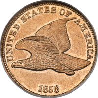 1856 1C Flying Eagle, Snow-9 -- Improperly Cleaned -- NCS. Proof....(PCGS# 147890)