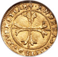 Italy, Italy: Venice. Andrea Gritti gold Scudo d'oro ND (1523-38) MS64NGC,...