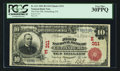 National Bank Notes:Pennsylvania, Gettysburg, PA - $10 1902 Red Seal Fr. 613 The First NB Ch. #(E)311. ...