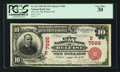 National Bank Notes:Maine, Belfast, ME - $10 1902 Red Seal Fr. 613 The City NB Ch. # (N)7586....