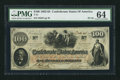Confederate Notes:1862 Issues, T41 $100 1862 PF-29 Cr. 324A.. ...
